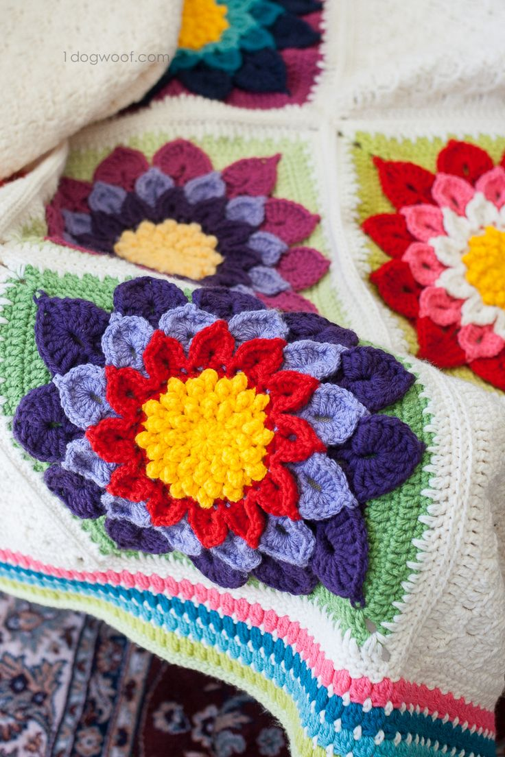1442 best afghans blankets throws crochet images on pinterest my labor of love crocodile flower afghan bankloansurffo Image collections