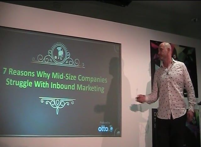 This is a presentation from the B2B Marketing Summit in June 2016 by Hector Taylor, Founder of otto, aB2B Inbound Lead Generation Agency. It explains inbound marketing tactics in terms of analytical left brain and creative right brain and demonstrates why it is so difficult for mid-size companies to cover every activity in-house. It is also an introduction to the concept of Inbound Marketing as a Service (IMaaS), in other words outsourcing inbound marketing to an agency that covers every…