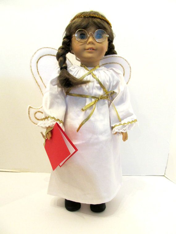 American Girl 18 in Doll  MOLLY Angel Costume by TateMuseumOnline, $5.95