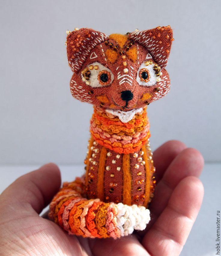 Magic Fox :) - рыжий, лиса, лиса игрушка, лиса сувенир