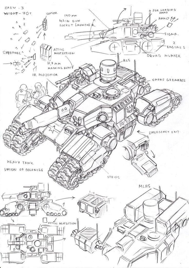UC multi-purpose tank by TugoDoomER on DeviantArt