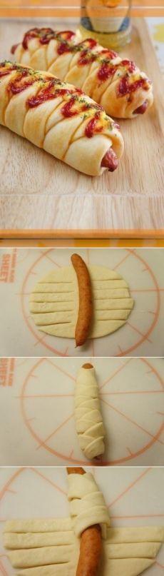 Как приготовить венские сосиски в тесте/wiener sausage bread. - рецепт, ингридиенты и фотографии