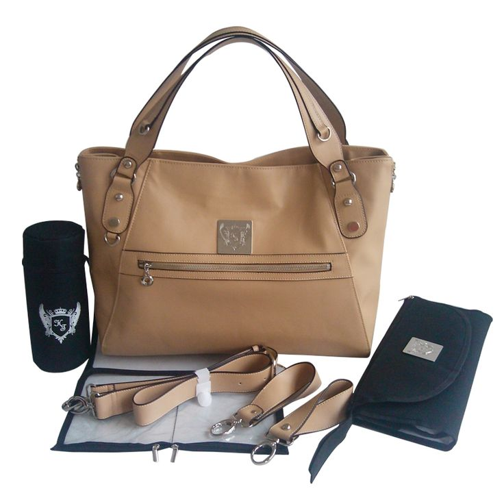 Hamilton Turnberry real leather cydney baby changing handbag