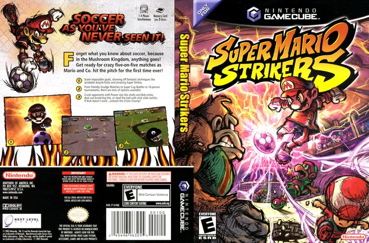 Super Mario Strikers Nintendo GameCube