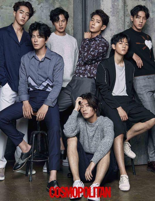 """El elenco de """"Scarlet Heart: Goryeo"""" en nuevas fotos de la revista Cosmopolitan                                                                                                                                                                                 Más"""