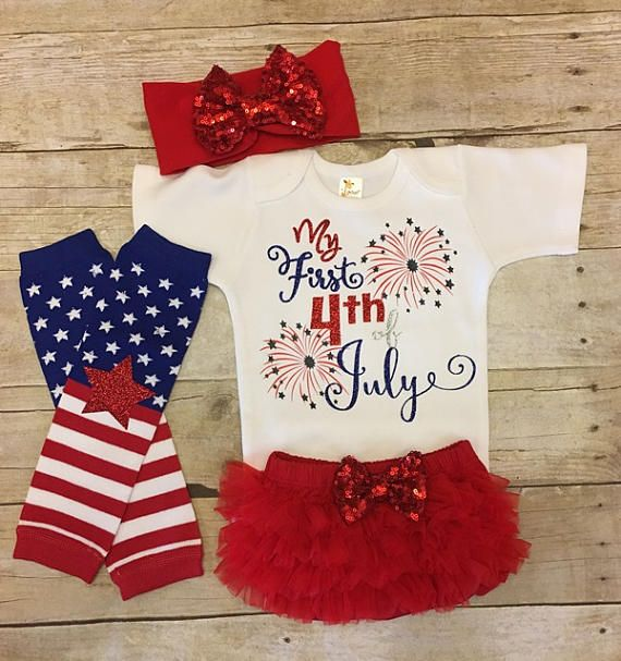 My 1st 4th of July outfit, My first 4th of July, Girls 4th of July, Girls 4th of July outfits, Fourth of July outfit, baby girl outfit #Affiliate