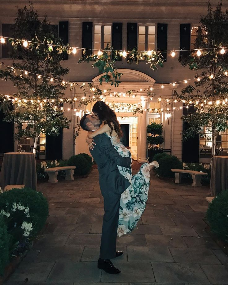 Fashion Blogger One Broads Journey in Lulus floral maxi dress. Perfect for a night wedding. Couple Goals. . . . #weddings #weddingseason #couplesofins…