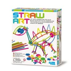 Universeum science discovery store, Straw art