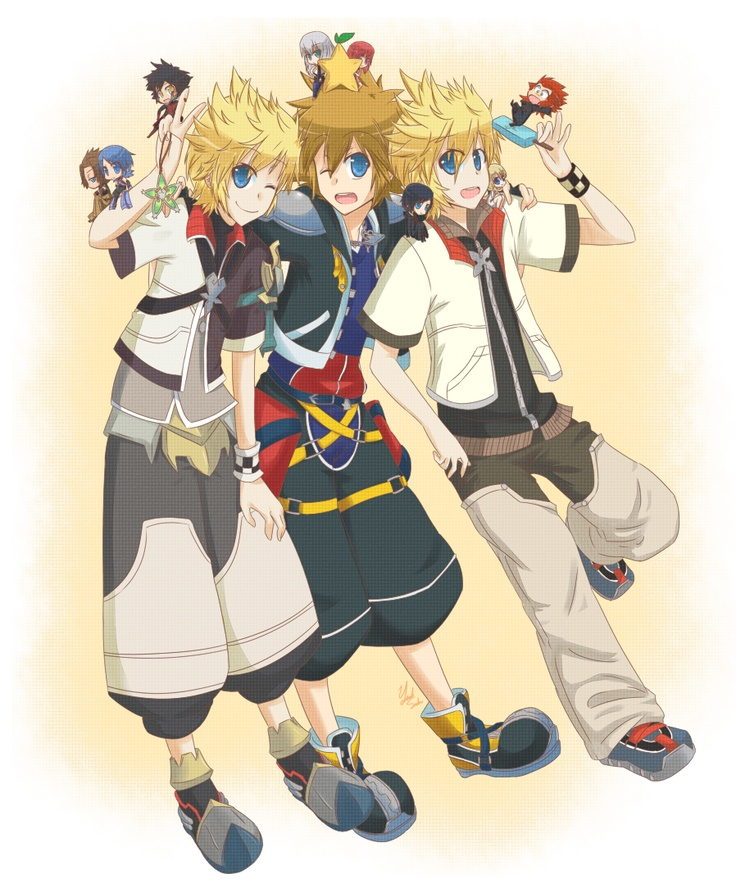 If Kingdom Hearts Met Anime By Takuyarawr On Deviantart: 1000+ Images About Kingdom Hearts