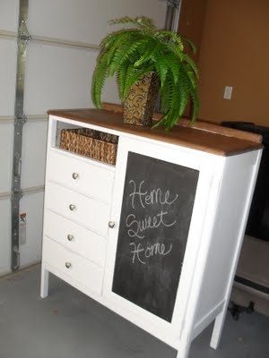 Use to be an old dresser, made for kids