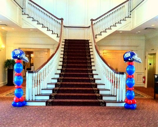 29 best chicago bears themed wedding images on pinterest bear aarons bar mitzvah is a great example of how to decorate your party with a giants football theme creatively and beautifully with balloon decorations junglespirit