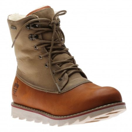 Royal Canadian Men's Lasalle Cognac Waterproof Winter Boot available on frostshoes.com or in Downtown Traverse City.