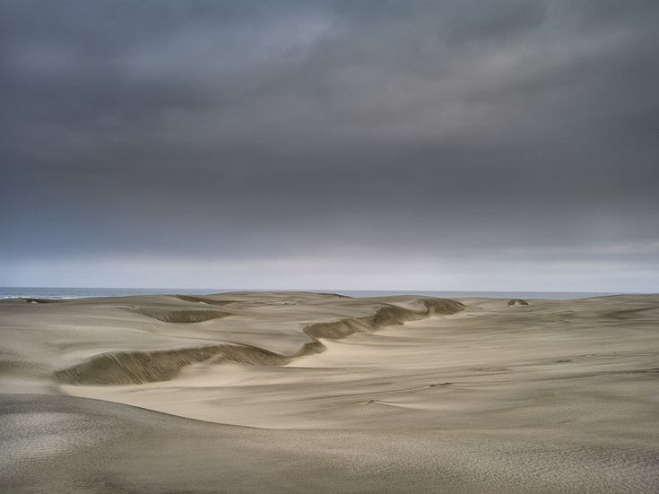 Wind formed sand at Farewell spit.