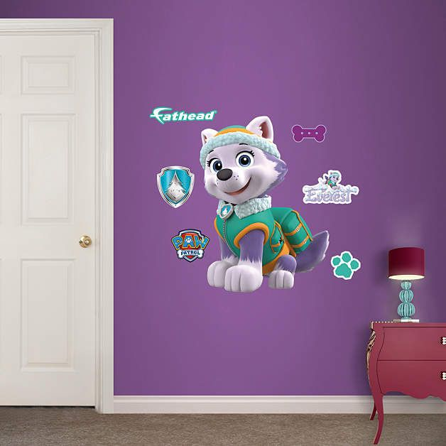 1000 ideas about paw patrol wall decals on pinterest. Black Bedroom Furniture Sets. Home Design Ideas