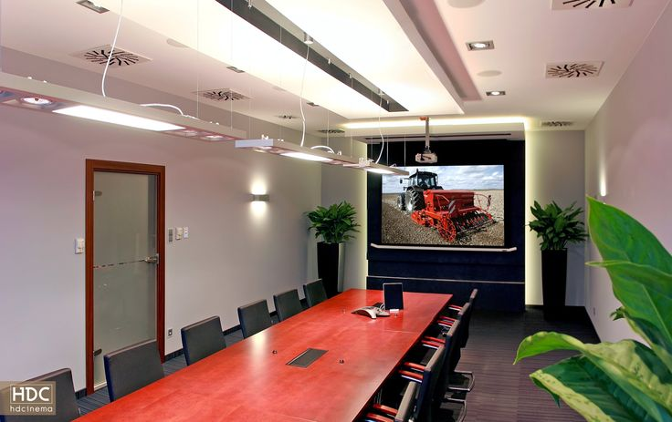 Conference room for business in Poland. / Sala konferencyjna w Poznaniu.  #conference #business #art #design #technology