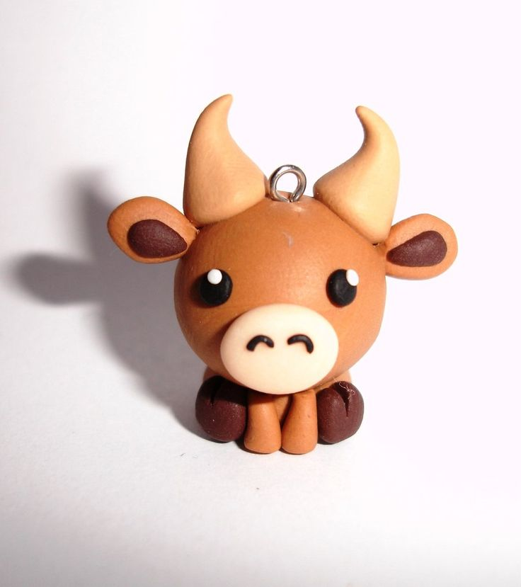 1000 images about cute clay animal charms on pinterest for Simple clay designs