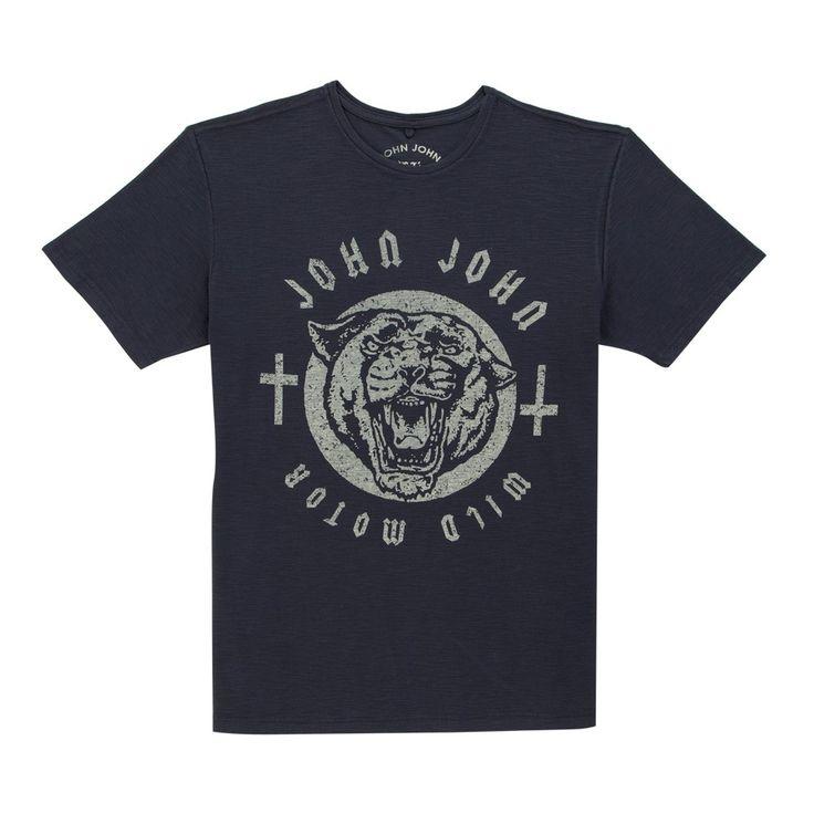 T-SHIRT WILD MOTOR JOHN JOHN DENIM | SHOP ONLINE | Compre a nova coleção pelo site oficial.