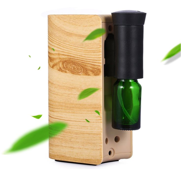 Aromatherapy Essential Oil Nebulizing Diffuser Air Purifier Automatic Dispenser Air Freshener With Empty Cans Perfume Dispenser #Affiliate