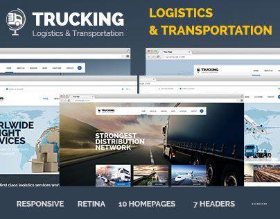 "Check out new work on my @Behance portfolio: ""Trucking - Transportation & Logistics HTML Template"" http://on.be.net/1HuqD73"
