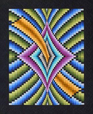 31 best Bargello images on Pinterest | Bargello quilt patterns ... : lockwood quilts - Adamdwight.com