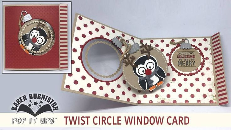 Karen Burniston has an awesome new tutorial up on her blog to help you get ready for the holidays! Check out her post which is accompanied by an informative video to show you how to make a window pop-up card using the Twist Circle die set. Find the full post here: http://karenburniston.typepad.com/i_am_not_lefthanded/2016/11/video-tutorial-twist-circle-window-card.html