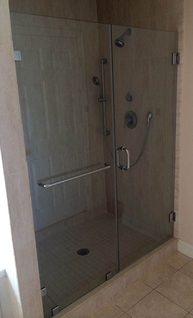 111 best images about Frameless Shower Doors - Swinging / Hinged ...