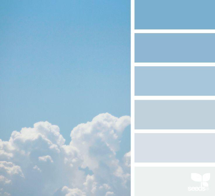 Resultado De Imagem Para Baby Blue Color Palette Sky