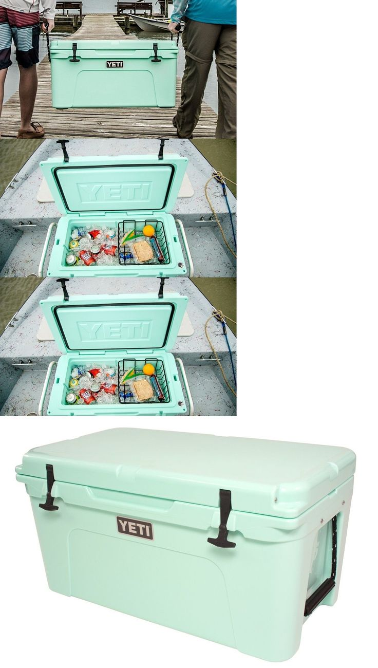 Camping Ice Boxes and Coolers 181382: Yeti Tundra 65 Cooler Seafoam Green Limited Edition **New In The Box!** -> BUY IT NOW ONLY: $399.99 on eBay!