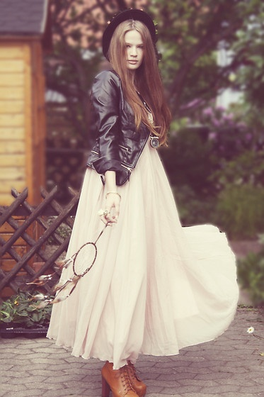 Gorg!     Bohemian. (by Juule Kay) http://lookbook.nu/look/3549659-bohemian: Fashion 3 S, Dreams, Fashion Concious, Collection Fashion, Dresses Shoes, Fashion 3S, Amazing Bohemian, Leather Jackets, The Dresses