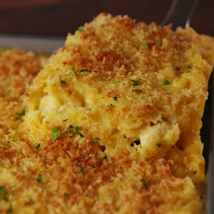 Sheet pan macaroni and cheese
