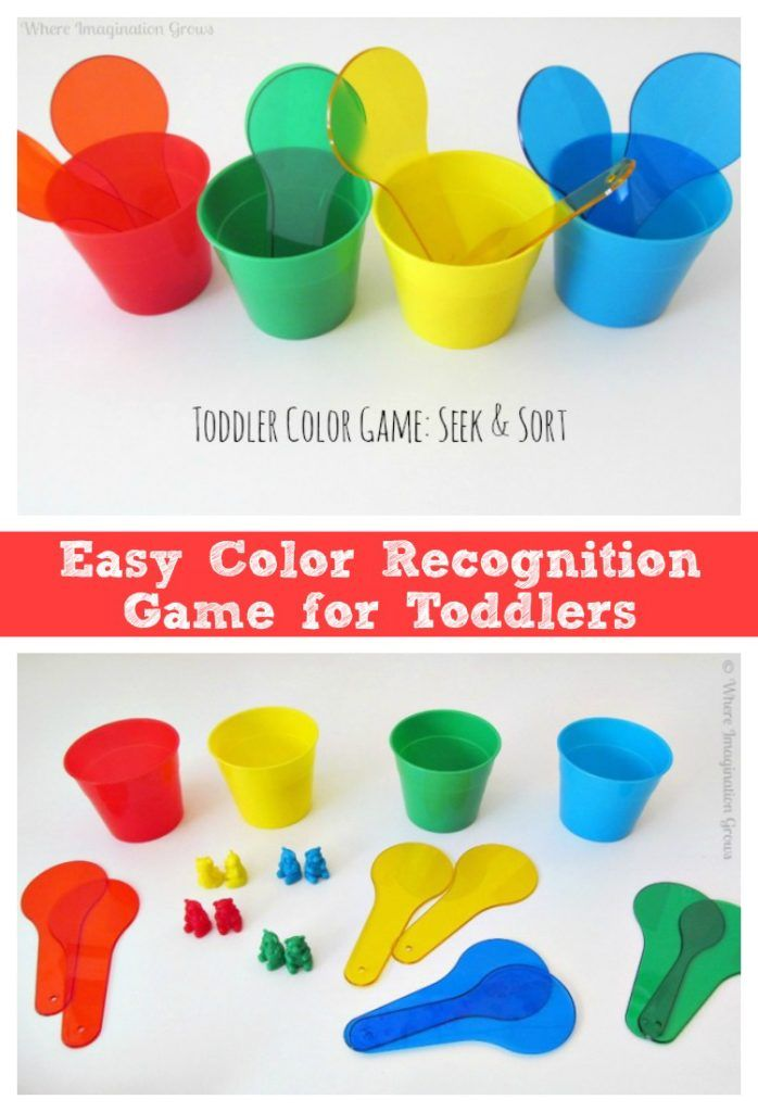 Seek & Sort! A Color Recognition Game for Toddlers | Toddler ...