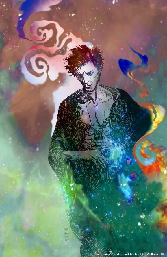 Sandman: Overture art by by J.H. Williams III - Visit: http://angelakamcomicart.wordpress.com/