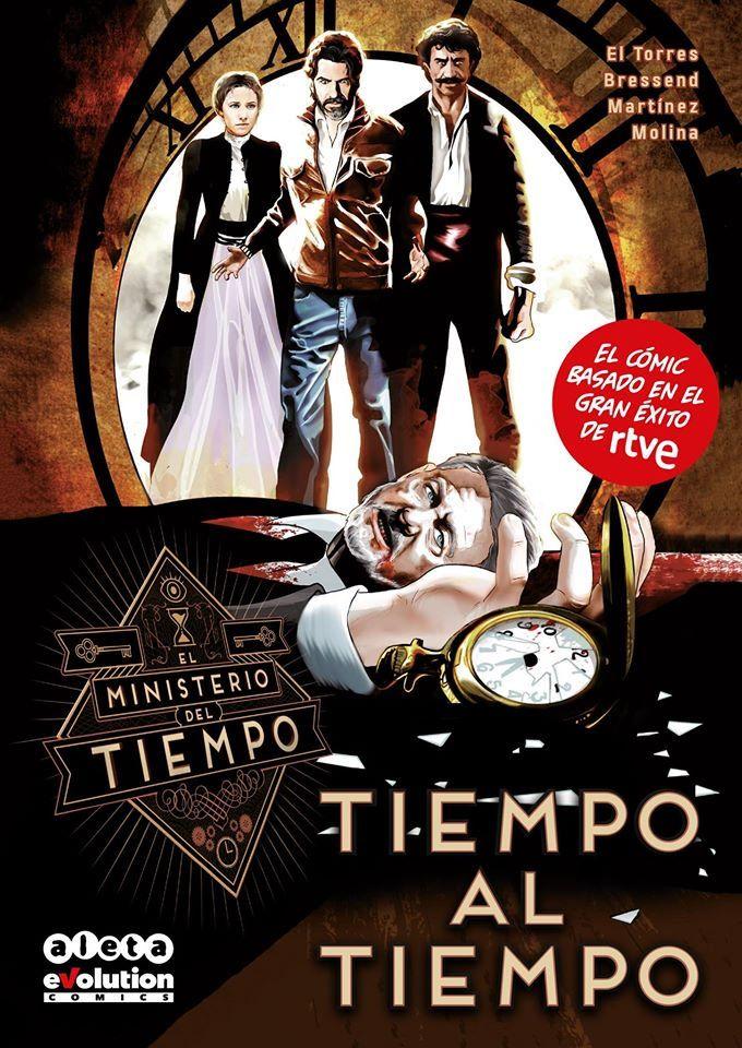 """""""A las 12:30 comienza en nuestro stand en @SalonComicZgz la sesión de firmas de Jaime Martínez, dibujante de 'Tiempo al tiempo', el cómic oficial de @MdT_TVE https://t.co/SuPutrGLqK"""""""