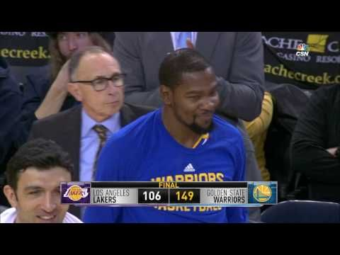 Los Angeles Lakers vs Golden State Warriors | Highlights | November 23, 2016 | 2016-17 NBA Season - YouTube