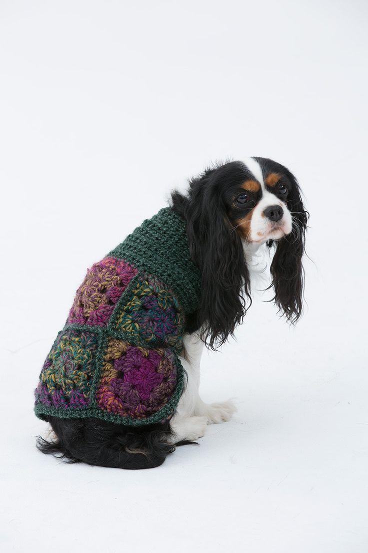Free Dog Sweater Crochet Patterns | Handarbeiten, Hunde und Häkeln