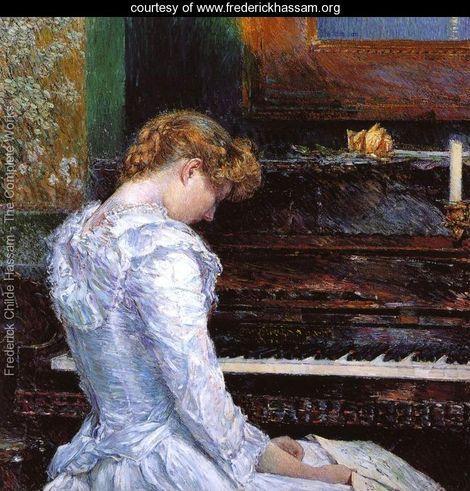 Frederick Childe Hassam The Sonata