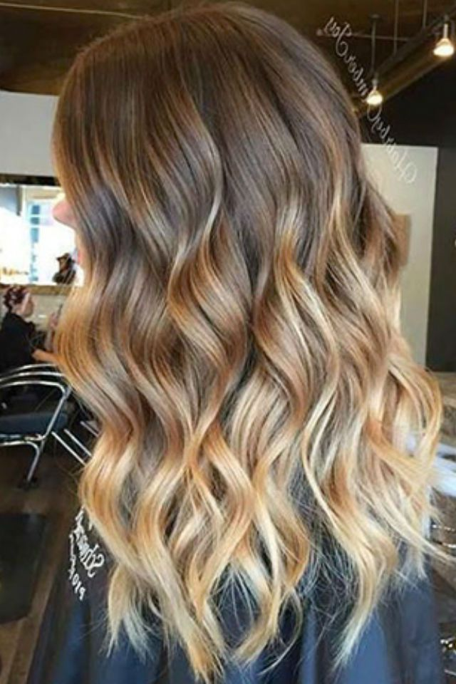 36 blonde balayage with caramel honey copper highlights. Black Bedroom Furniture Sets. Home Design Ideas