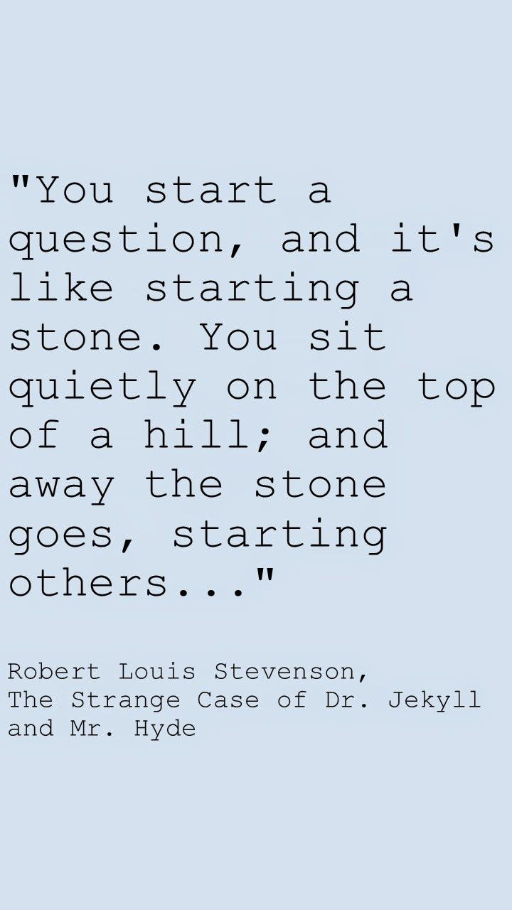robert louis stevensons dr. jekyll and mr. hyde essay Published essays on a variety of subjects, including chaucer, shakespeare,   on robert louis stevenson's the strange case of dr jekyll and mr hyde.