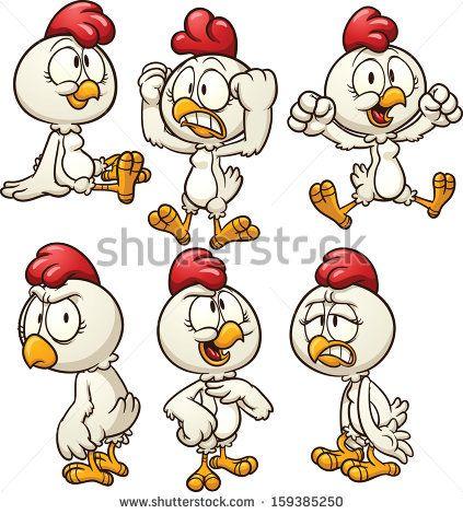 Chicken Mascot With Thumb Up Stock Vector Illustratie: 137182265 : Shutterstock