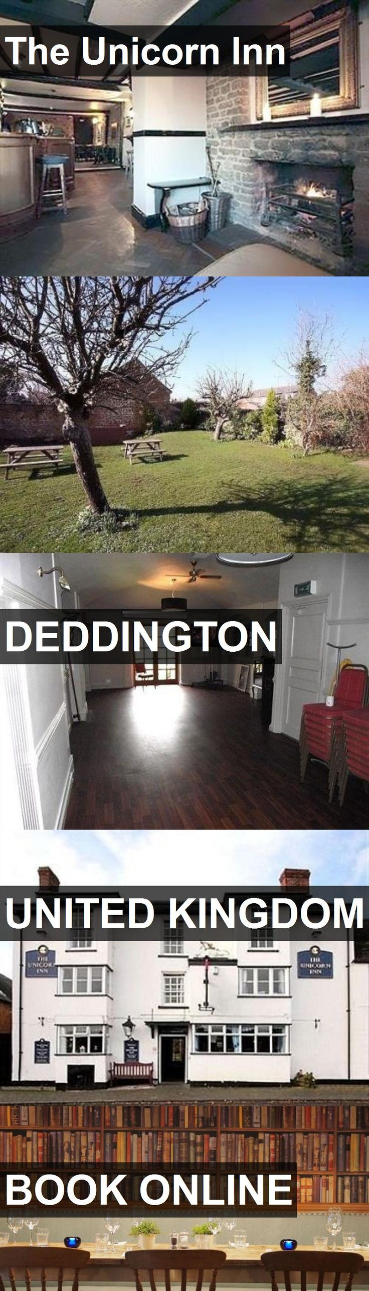 Hotel The Unicorn Inn in Deddington, United Kingdom. For more information, photos, reviews and best prices please follow the link. #UnitedKingdom #Deddington #travel #vacation #hotel