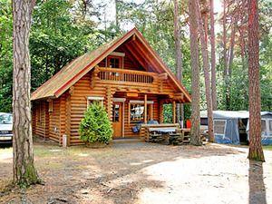 Usedom - Blockhaus auf dem Campingplatz Pommernland