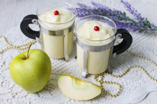 Яблочный крем-десерт - воздушная эйфория вкуса!
