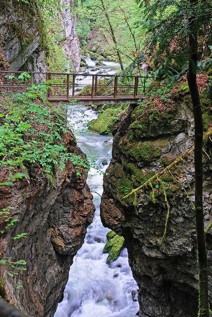 Les Gorges de l'Areuse, Jura, Switzerland