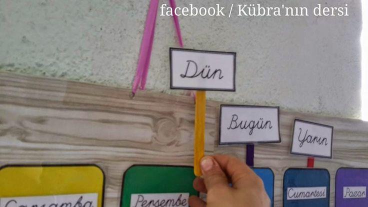 Kübra'nın dersi: ZAMAN ALGISI OLUŞUMU VE SAAT ÖĞRETİMİ