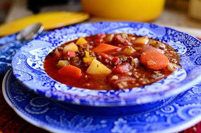 Pioneer Woman--Hamburger Soup   Tasty Kitchen: A Happy Recipe Community!