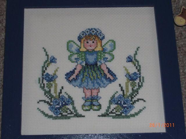 Kékvirág tündér