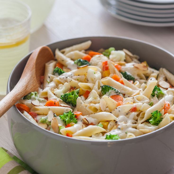 Penne Pasta With Vegetables Recipe Video | Hidden Valley®