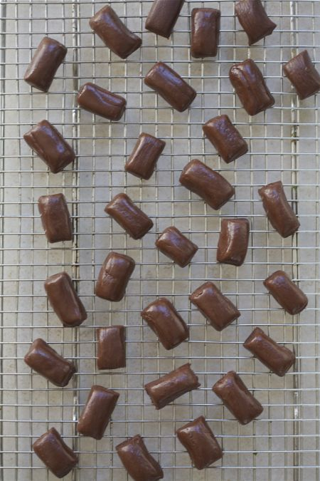 Homemade Tootsie Rolls - A Cozy Kitchen - I don't like store bought ones, but I might be willing to try these out :)