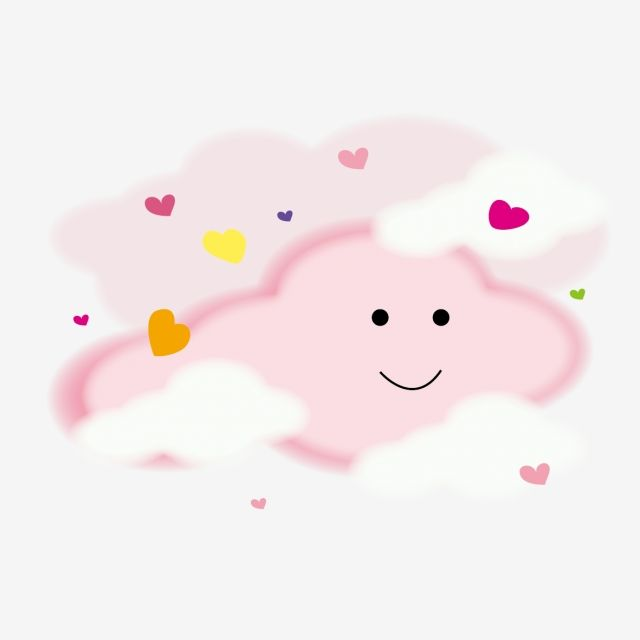 Powdered Love Cloud Pink Cloud Powder Cloud Cloud Vector And Png Pink Clouds Cartoon Clouds Pink Posters