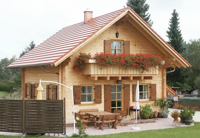 Das traditionelle Blockhaus Haus, Landhausstil häuser
